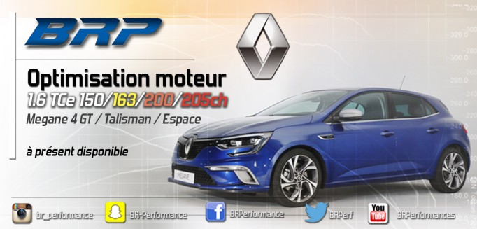 REPROGRAMMATION RENAULT 1.6T DISPONIBLE !