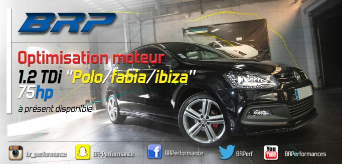 REPROGRAMMATION 1.2 TDI DISPONIBLE